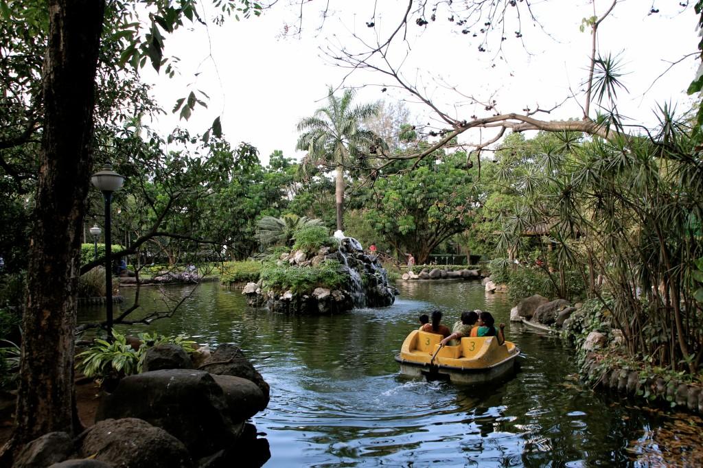 Nirvana Park boats