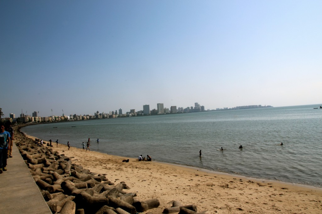 A sunny Marine Drive