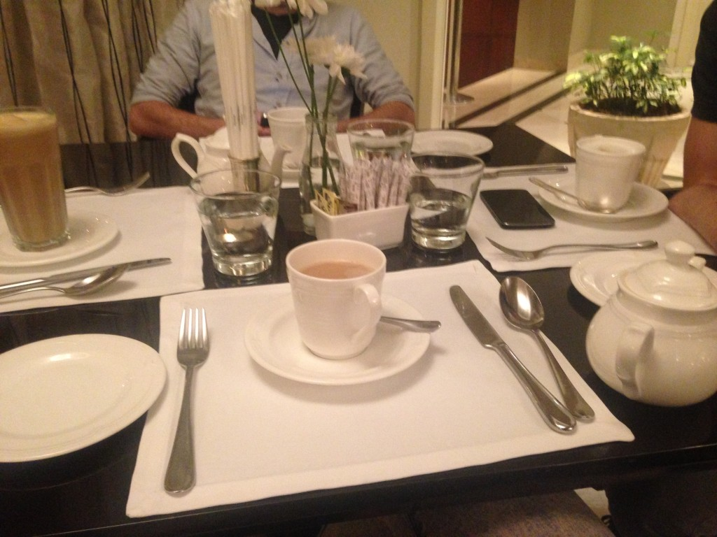 At Taj Mahal Hotel