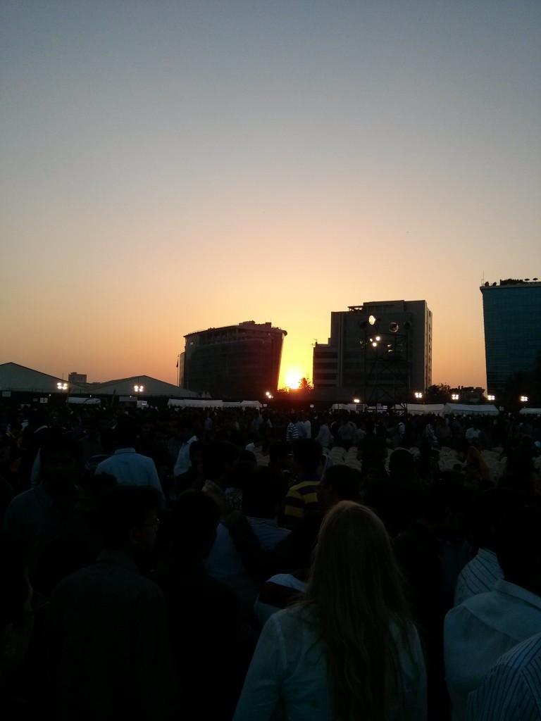 Sunset at Jashn