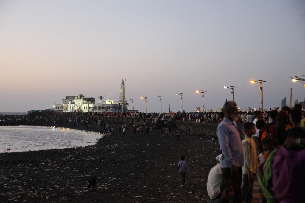 Pathway to Haji Ali