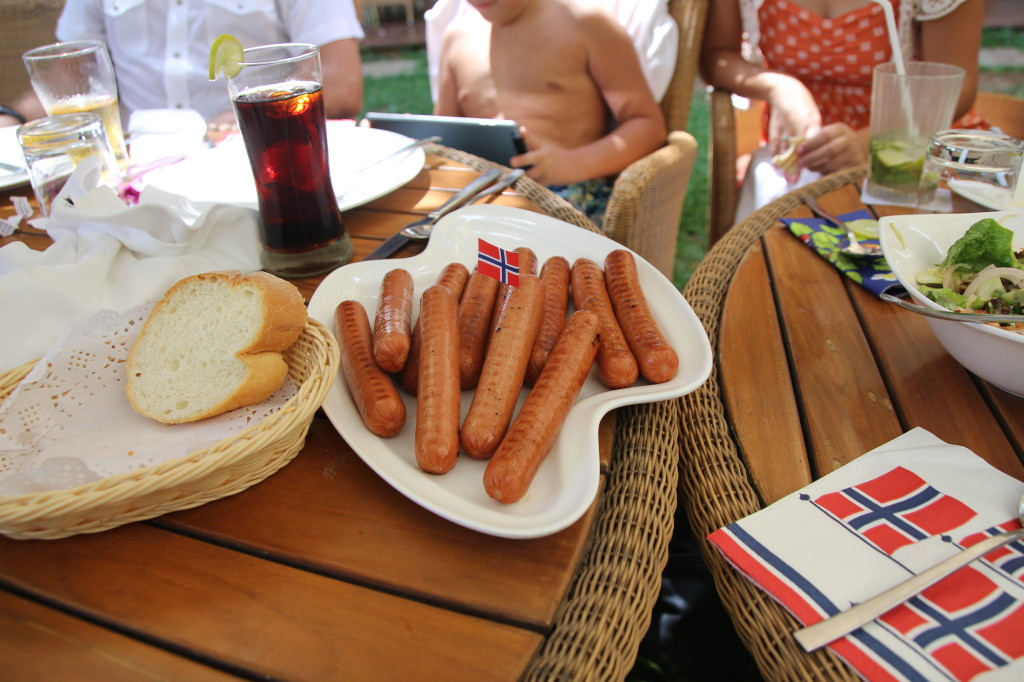 Gilde sausages